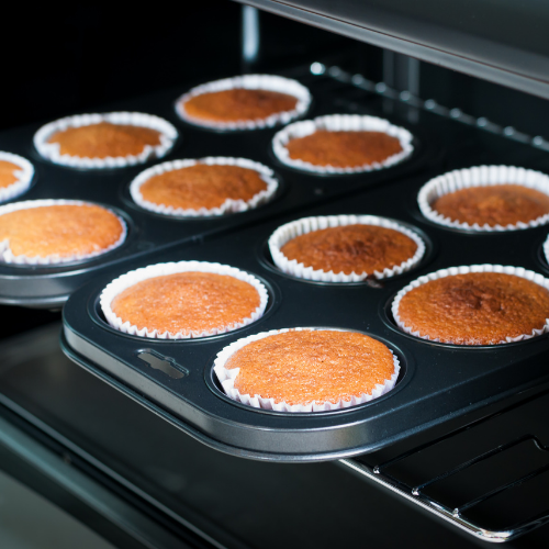 Cake in convection