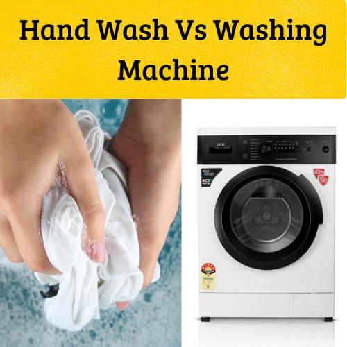 Hand wash or washing machine
