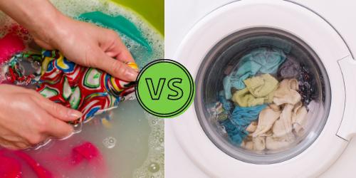 hand washing or machine wash