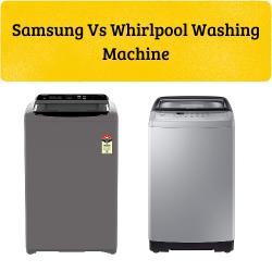 Samsung vs Whirlpool Washing Machine